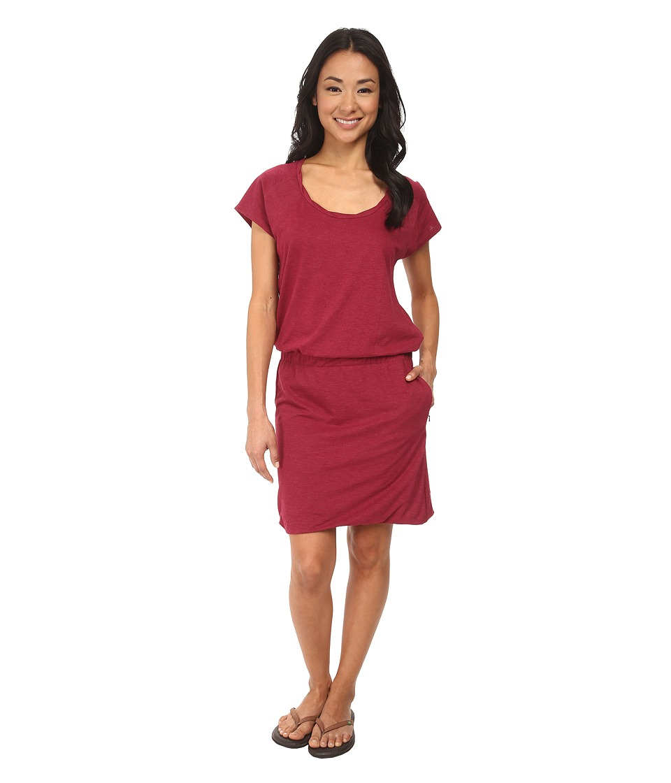 Toad&Co - Allisa S/S Dress (Magenta) Women's Dress