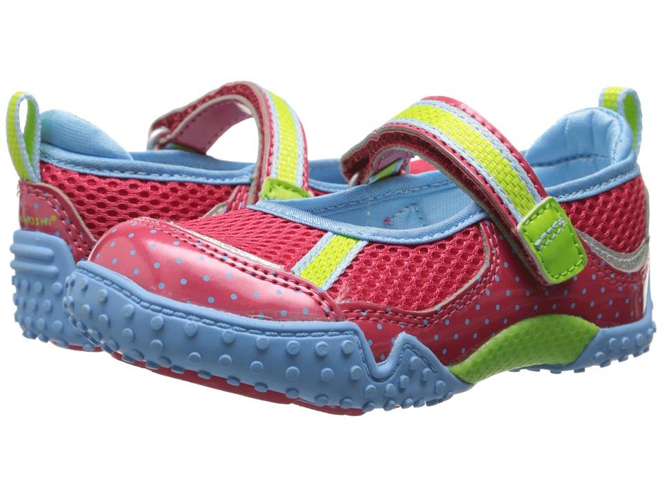 Tsukihoshi Kids Laguna (Toddler/Little Kid) (Coral/Light Blue) Girls Shoes