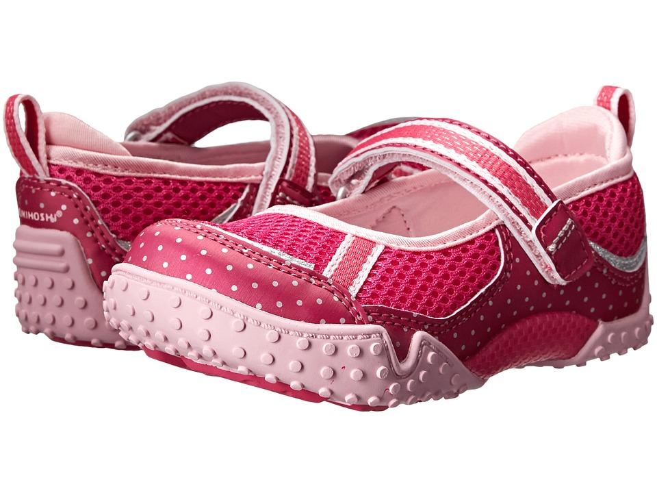 Tsukihoshi Kids Laguna (Toddler/Little Kid) (Berry/Pink) Girls Shoes