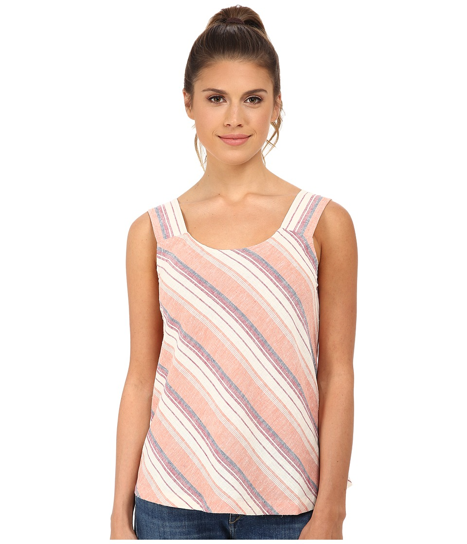 Royal Robbins - Adrift Stripe Tank (Black Cherry) Women's Sleeveless