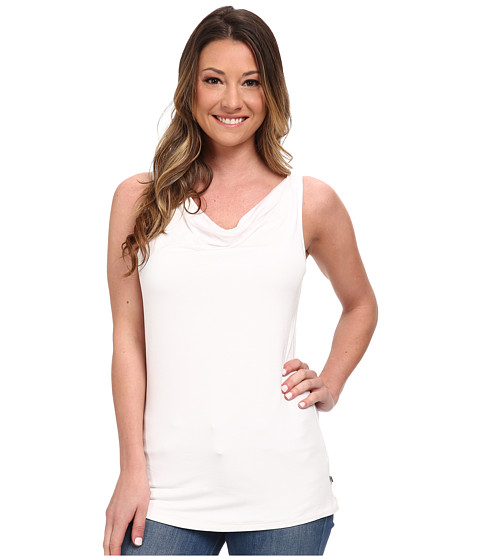 Toad&Co - Wisper Double Tank Top (White) Women's Sleeveless