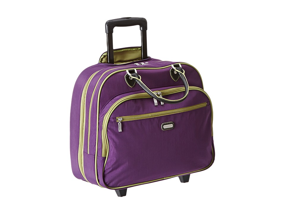 Baggallini - Rolling Tote (Violet) Weekender/Overnight Luggage