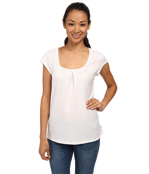 Toad&Co - Wisper S/S Tee (White) Women's Short Sleeve Pullover