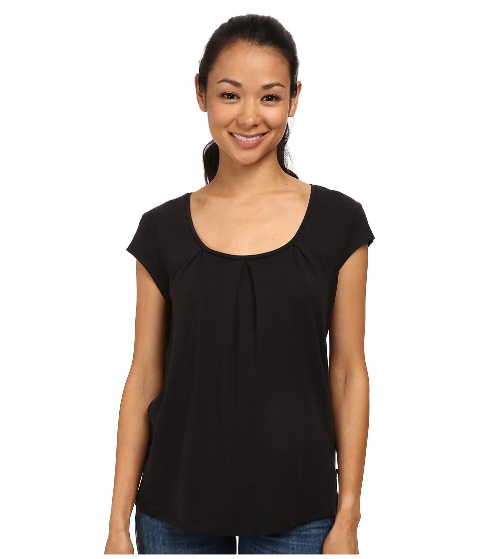 Toad&Co - Wisper S/S Tee (Black) Women's Short Sleeve Pullover