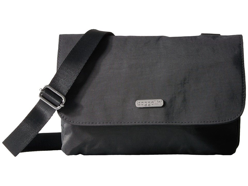 Baggallini - Venture Crossbody (Charcoal) Cross Body Handbags