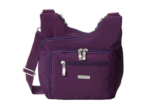 Baggallini - Criss Cross (Violet) Cross Body Handbags