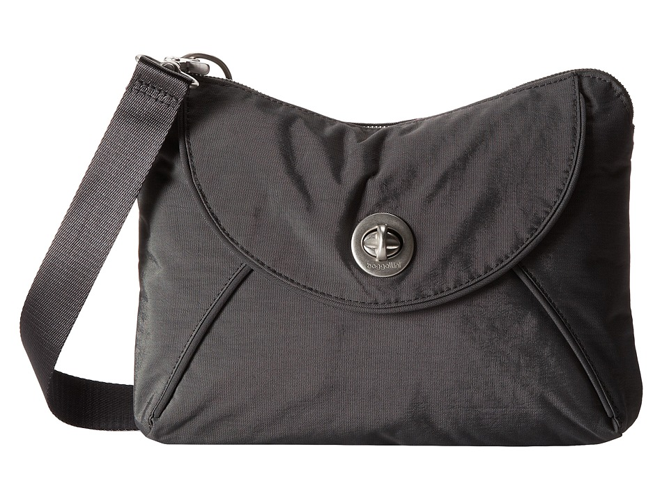 Baggallini - Rio Crossbody (Charcoal) Cross Body Handbags