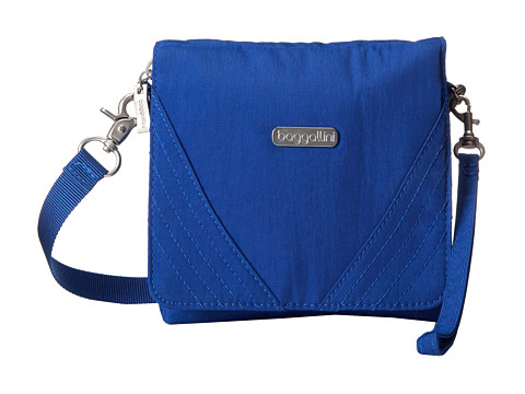 Baggallini - Divide Crossbody (Ocean) Cross Body Handbags