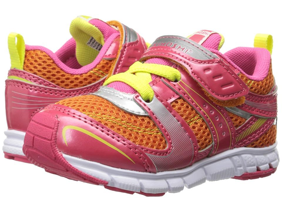 Tsukihoshi Kids - Velocity (Toddler/Little Kid) (Coral/Orange) Girls Shoes