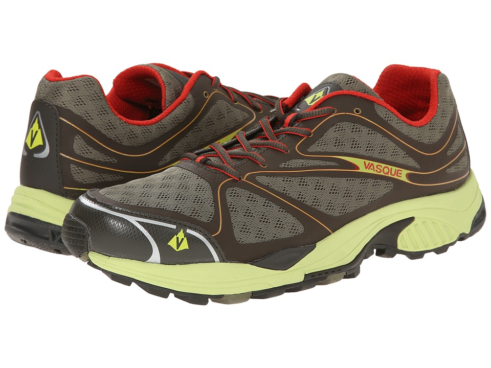 Vasque - Pendulum II (Black Olive/Green Glow) Men's Shoes