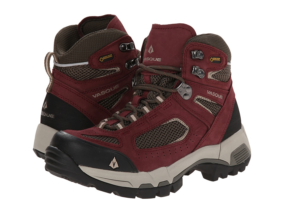 Vasque Breeze 2.0 GTX (Red Mahogany/Black Olive) Women