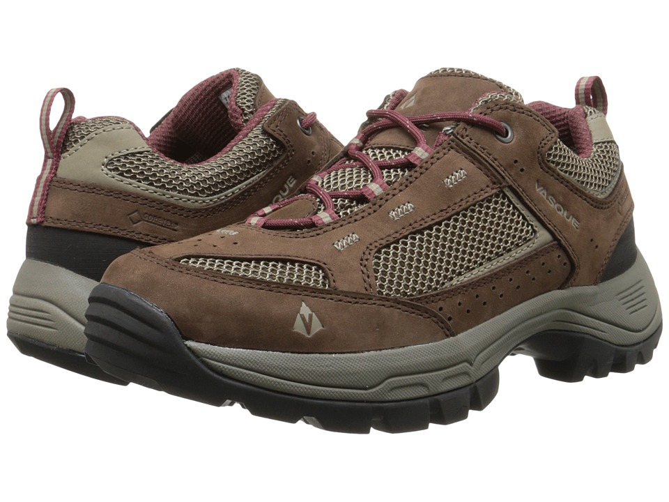 Vasque Breeze 2.0 Low GTX (Slate Brown/Mahogany) Women
