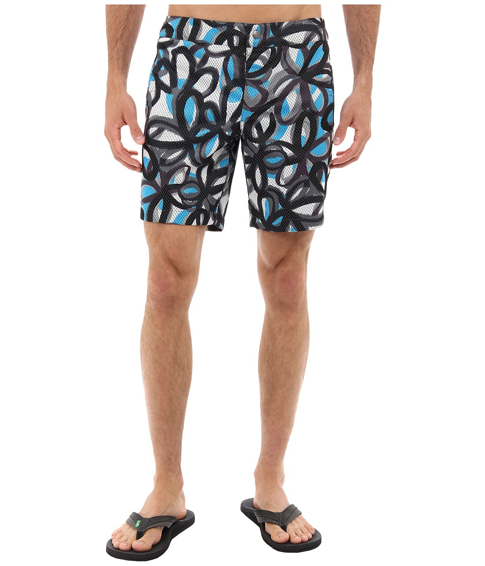 Mr.Turk - Safari Board Short (Blue) Men's Swimwear