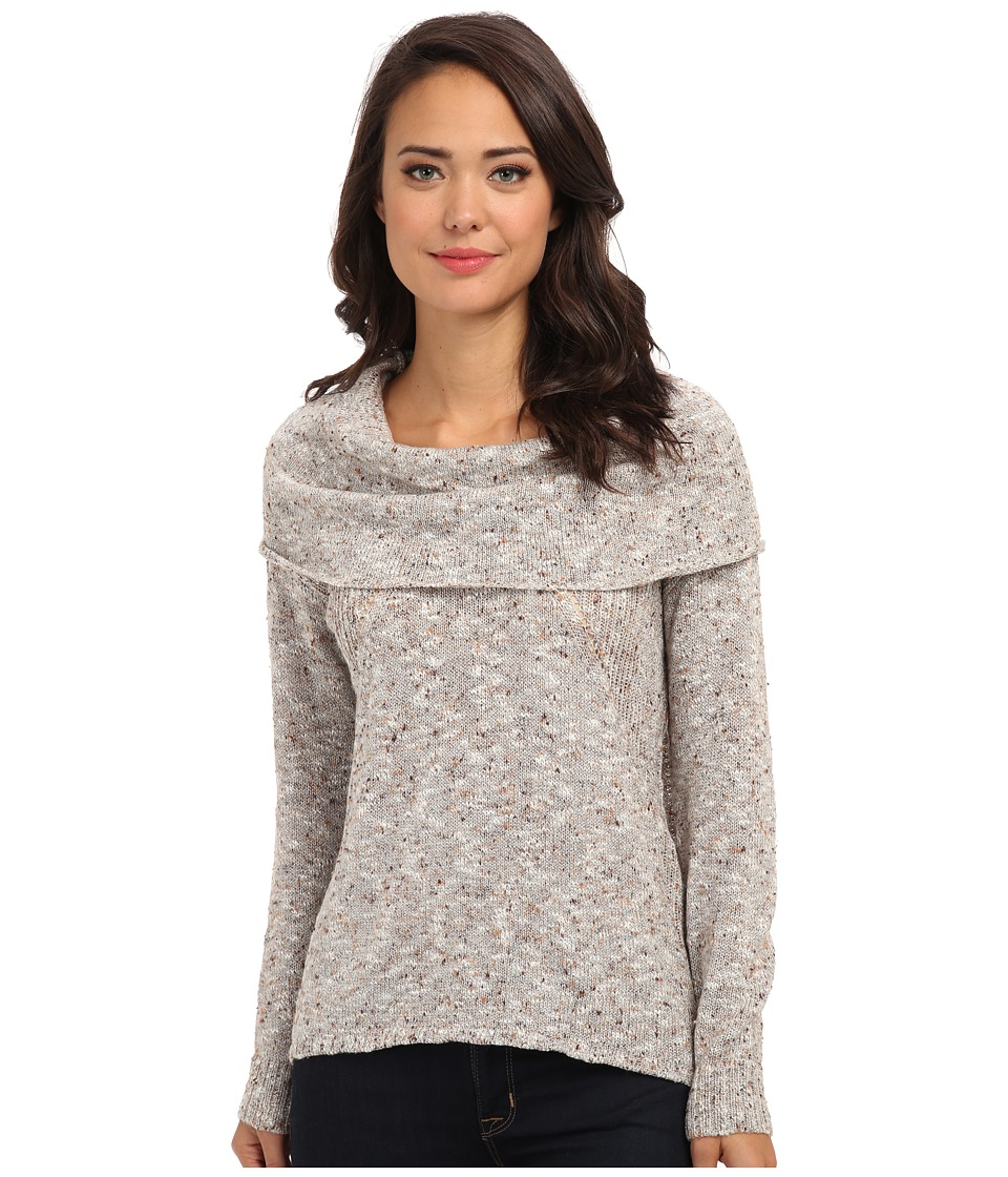kensie - Flecked Slub Sweater KS0K5570 (String Combo) Women's Sweater