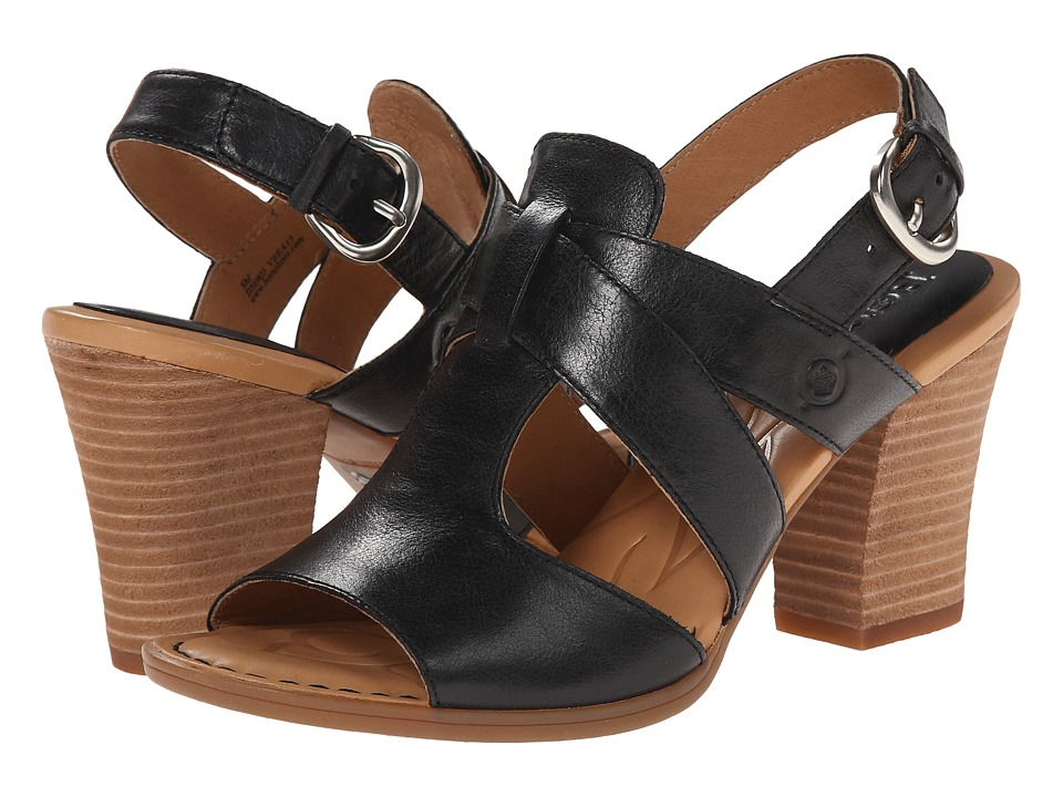 Born - Elly (Black Full-Grain Leather) High Heels