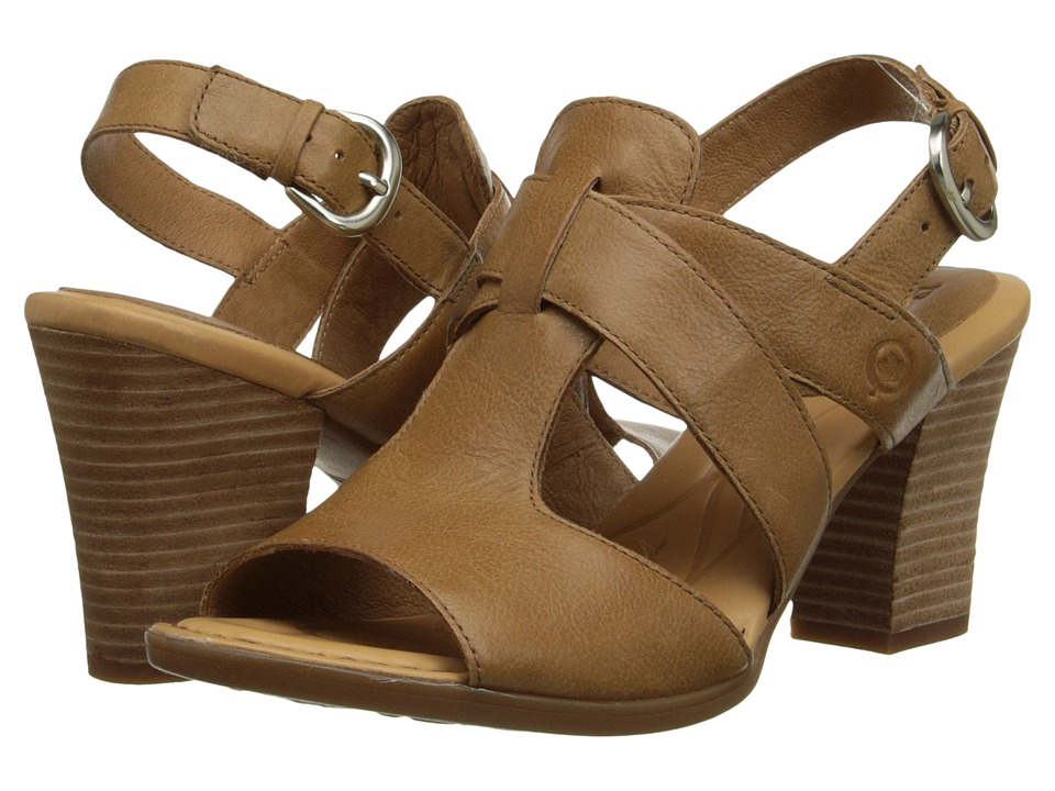 Born - Elly (Cuoio (Light Brown) Full-Grain Leather) High Heels