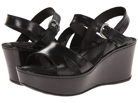 Born - Du Jour (Black Full-Grain Leather) Women