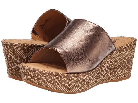Born - Tilda (Bronze Metallic) Women's Wedge Shoes