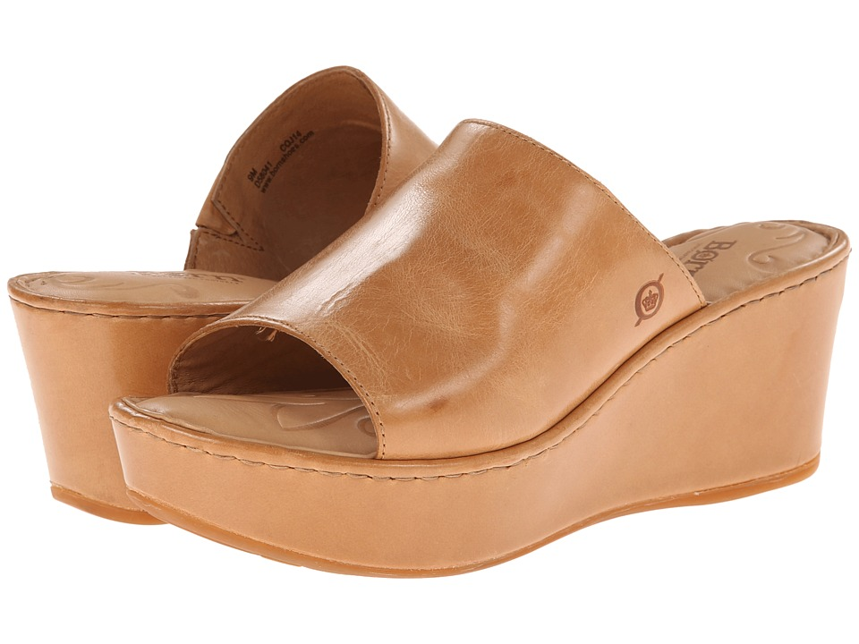 Born - Tilda (Luggage (Light Brown) Full-Grain Leather) Women