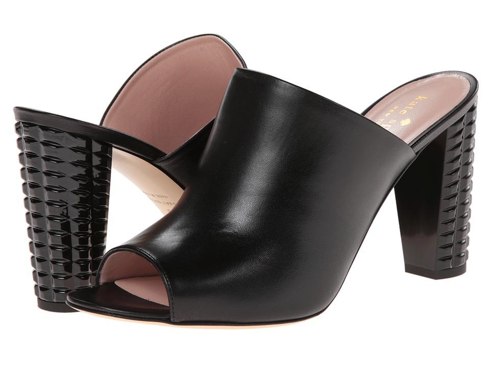 Kate Spade New York - Baylee (Black Nappa/Black Spray Heel) High Heels