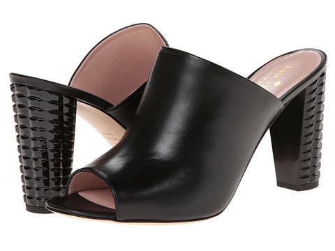 Kate Spade New York - Baylee (Black Nappa/Black Spray Heel) High Heels
