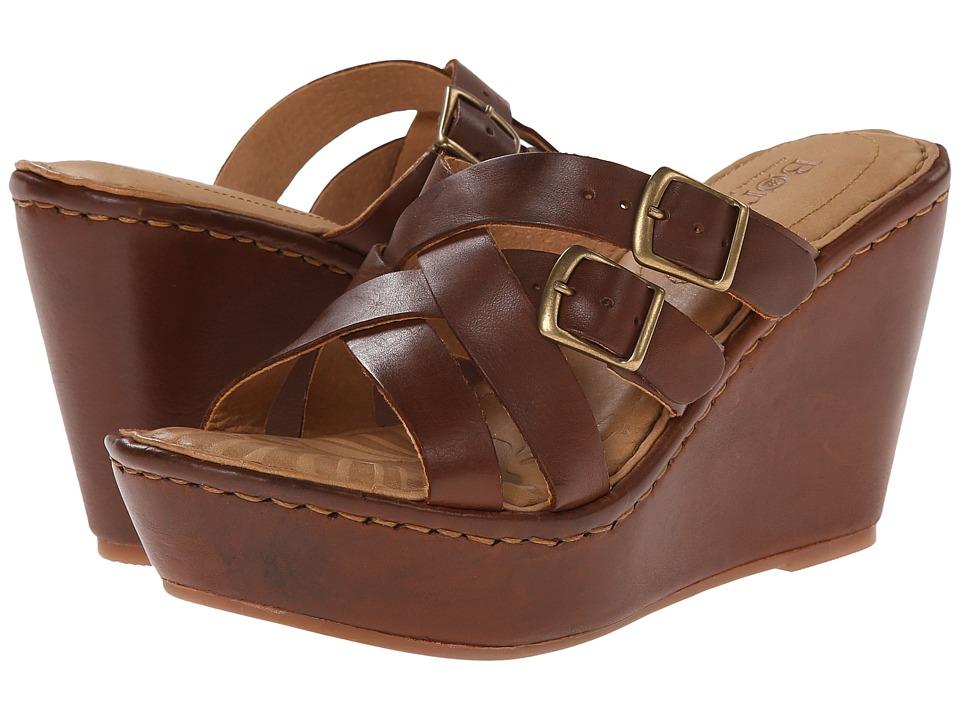 Born Nolina (Whiskey (Tan) Full-Grain Leather) Women