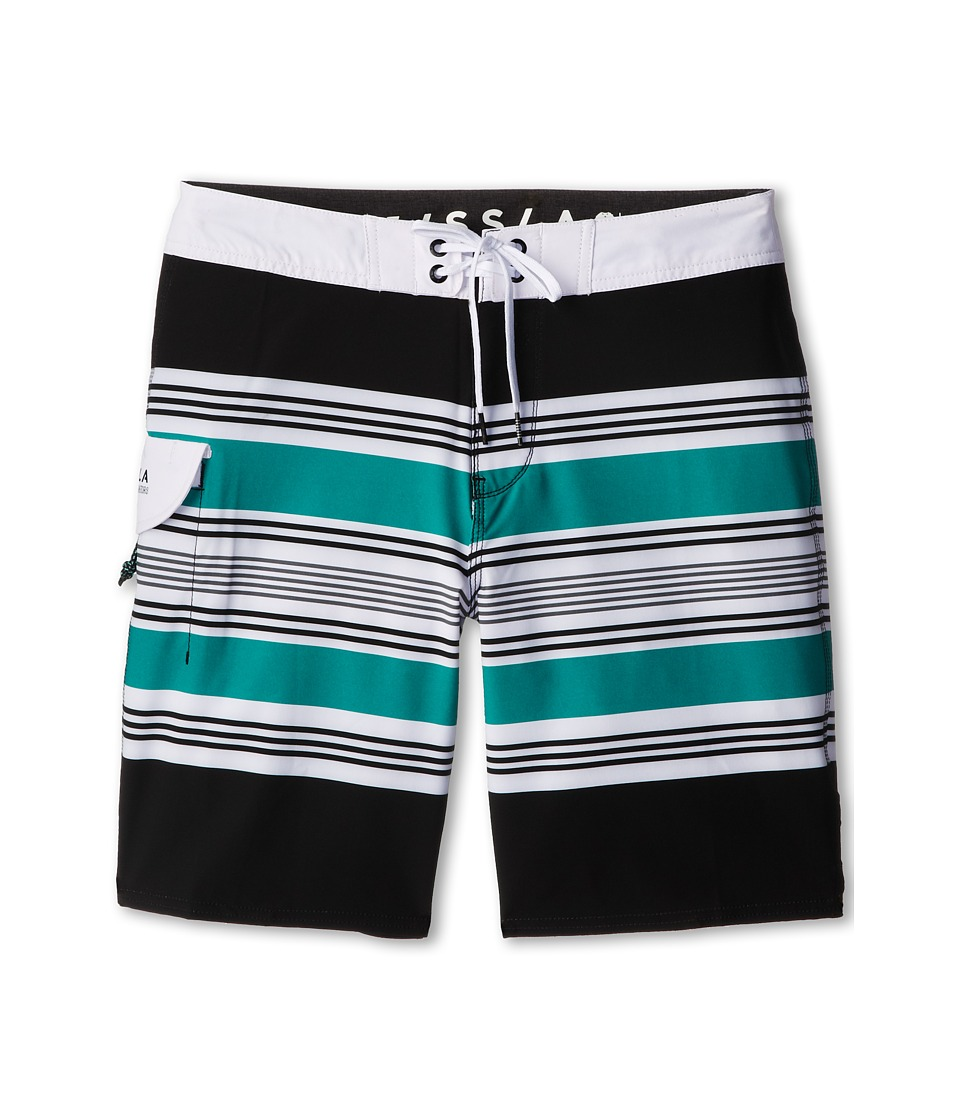 VISSLA Kids - See Level Boardshort (Big Kids) (Phantom) Boy's Swimwear