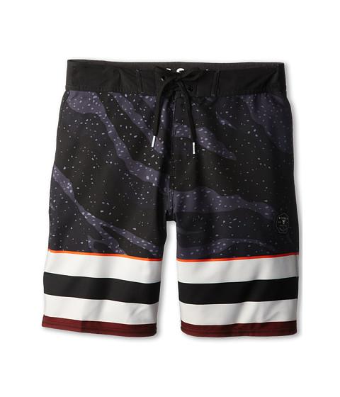 VISSLA Kids - Kerts Boardshort (Big Kids) (Black) Boy's Swimwear