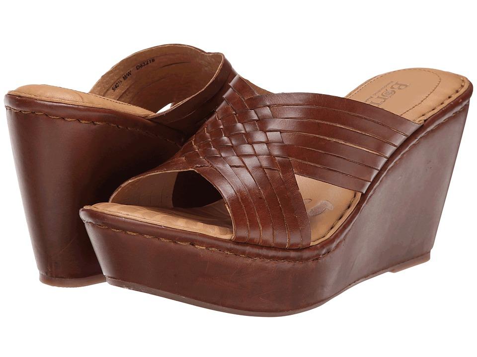 Born - Millia (Whiskey (Tan) Full-Grain Leather) Women
