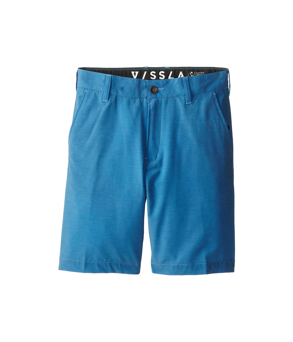 VISSLA Kids - High Tide Hybrid Walkshort (Big Kids) (Blue Wash) Boy
