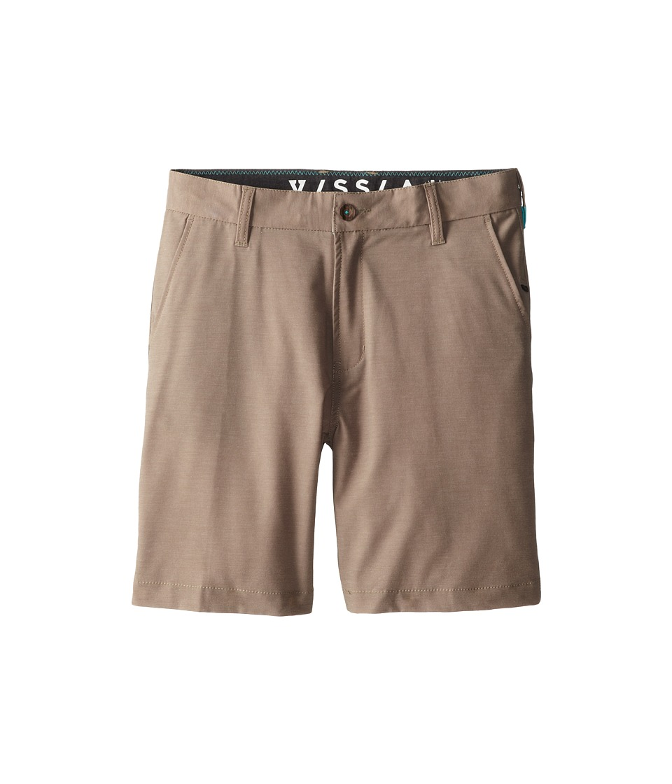 VISSLA Kids - High Tide Hybrid Walkshort (Big Kids) (Khaki) Boy's Shorts