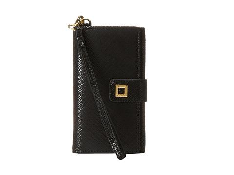 Lodis Accessories - Anderson Cassie Phone Wallet (Black) Wallet Handbags