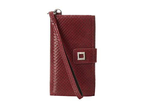 Lodis Accessories - Anderson Cassie Phone Wallet (Red) Wallet Handbags