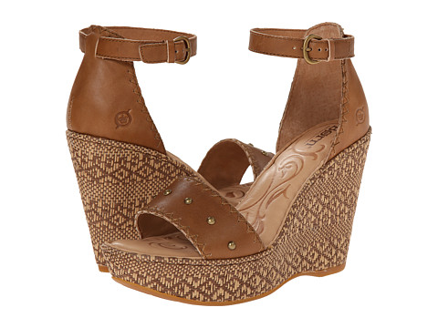Born - Valari (Golden Sand (tan) Full-Grain Leather) Women