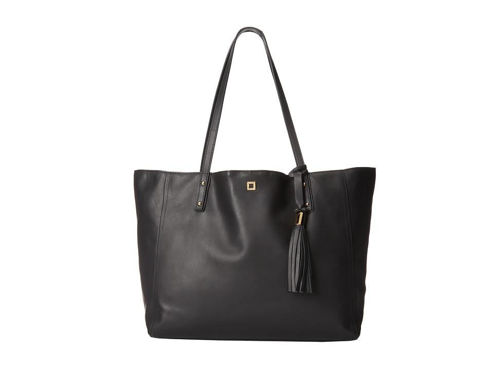 Lodis Accessories - Glendora Jillian Tote (Black) Tote Handbags