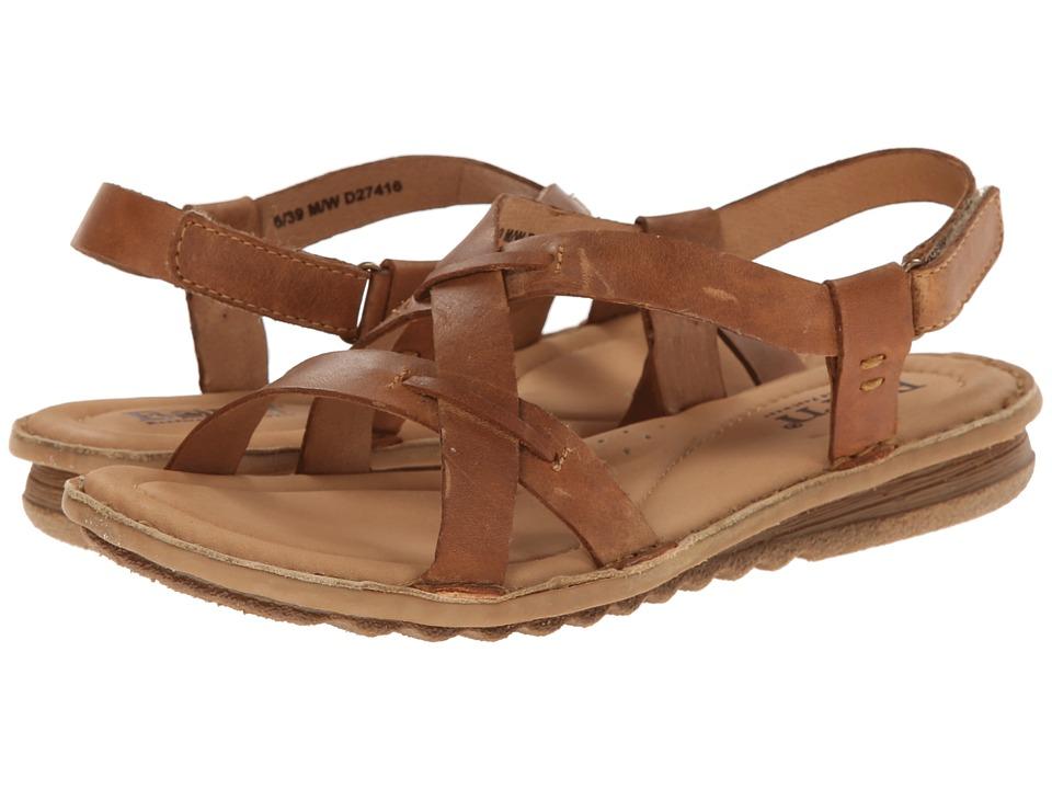 Born - Rainey (Camel (Tan) Full-Grain Leather) Women