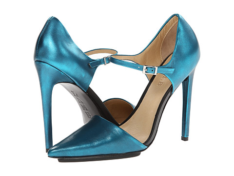 L.A.M.B. - Will (Teal Brush Metallic) High Heels