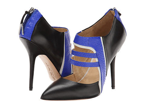 L.A.M.B. - Wilson (Royal Blue/Black Snake/Leather) High Heels