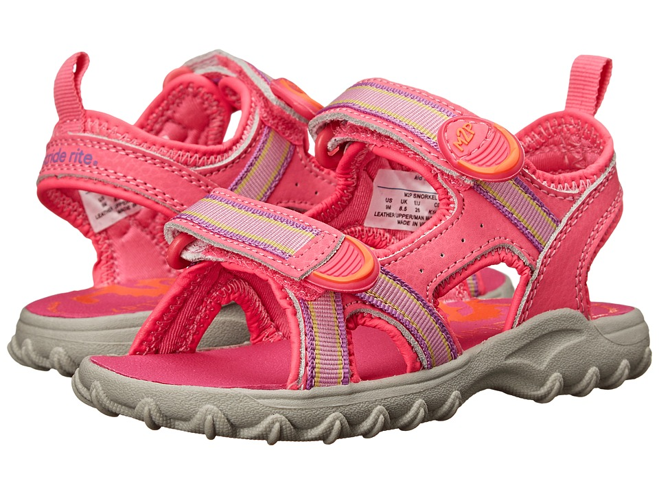Stride Rite - M2P Snorkel (Toddler/Little Kid) (Pink) Girls Shoes