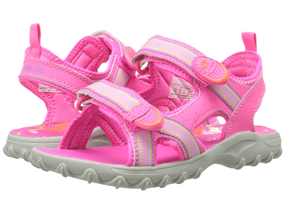 Stride Rite - M2P Snorkel (Little Kid/Big Kid) (Pink) Girls Shoes