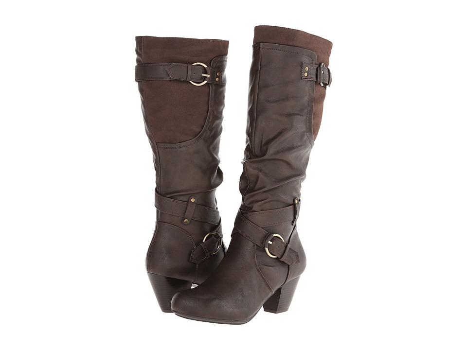 Rialto - Coralynn (Espresso) Women's Shoes