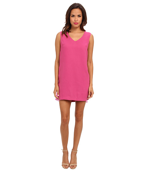 Aryn K - Low Back Mini Dress (Magenta) Women's Dress