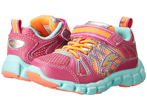 Stride Rite - Propel A/C (Toddler/Little Kid) (Fuchsia/Coral/Blue) Girls Shoes