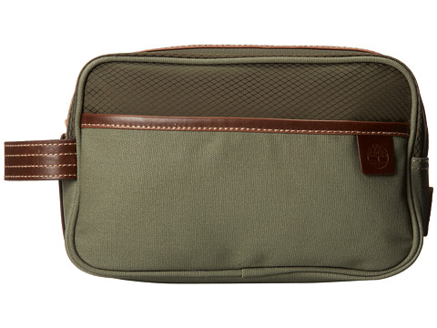 Timberland - Canvas/Nylon Travel Kit (Green) Wallet
