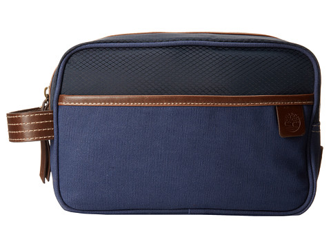 Timberland - Canvas/Nylon Travel Kit (Navy) Wallet