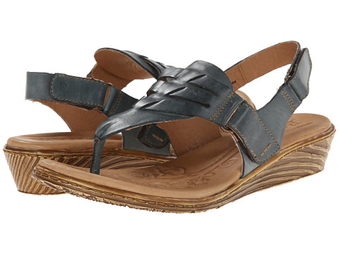 Born - Karis (Rey (Blue) Full-Grain Leather) Women's Sandals