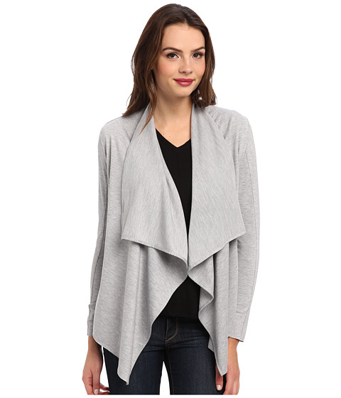 KUT from the Kloth - Marc French Terry Jacket (Heather Grey) Women's Coat