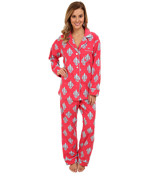 BedHead - Classic Flannel PJ (Rouge French Quarter) Women's Pajama Sets