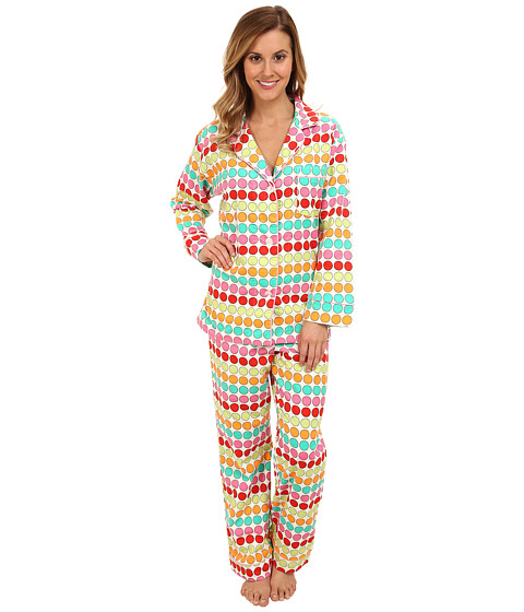 BedHead - Classic Flannel PJ (Multi Twister) Women's Pajama Sets
