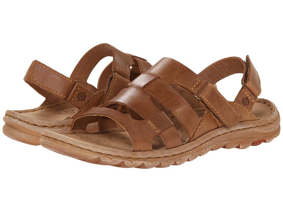 Born - Valora (New Camel (Tan) Full-Grain Leather) Women